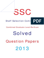 Ssc Combined Graduate Level Exam Papers Pdf