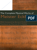Mystical Works of Meister Eckhart