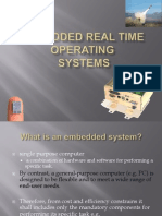 Embedded Real Time OS