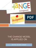 Change Management Model Applied on Matric Board