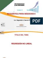 Semana 08-Regresion No Lineal