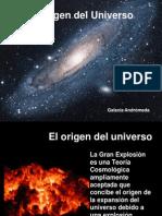 El Origen de Universo - Big Bang