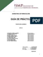 Guía Prácticas Farmacología USMP FINAL 2014-II