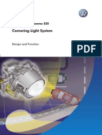 Cornering Light System; Design and Function
