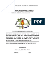Proyecto Nilton 2014 - Accion