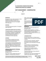 Soil Salinity Management-Nonirrigated (Ac)