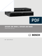 Divar 5000 Series Operation Manual