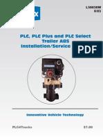 L30030W Trailer Service Manual PLC, PLC-Plus,PLC-Select 6-03 Web-Only