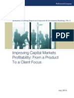 McKinsey Improving Capital Markets Profitability