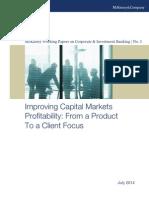 McKinsey Improving Capital Markets Profitability