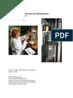 Sp250-78 Nist Calibration Services for Hydrometers