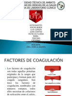Factores de Coagulación (Exposición)