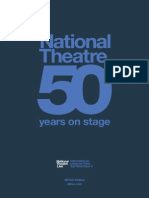 NTLive 50th Programme