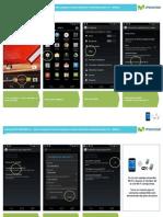 Motorola XT1058 Moto X Compartir Internet Hotspot 1348