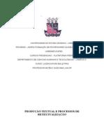 Projeto Seminario Tematico Produção Textual