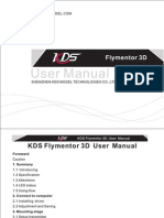 KDS Flymentor 3D User Manual