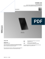Datos Técnicos Colector Viessmann VITOSOL 100 (Plano) 2003