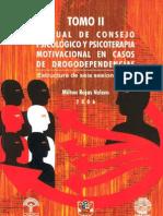MANUAL DE CONSEJO PSICOLÓGICO Y PSICOTERAPIA MOTIVACIONAL EN CASOS DE DROGODEPENDENCIAS. TOMO II.pdf