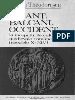 Teodorescu, Razvan - Bizant, Balcani, Occident