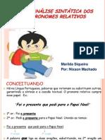 Anlisesintticadospronomesrelativos 131003123332 Phpapp02 (2)