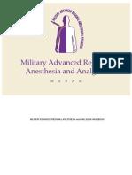 Military Advanced Analgesia and Anesthesia