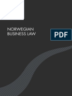 Norwegian Business Law January 2011