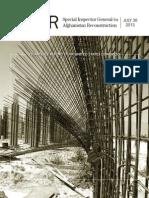 Afghan Special Inspector General Report U.S. Funding Al Quada