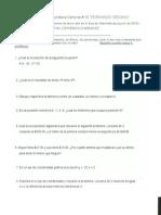 DIAGNOSTICO  MATE 3°