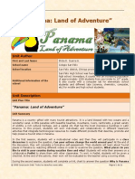 unit plan - panama land of adventure