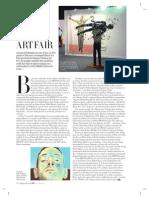 Piece in Harper's Bazaar