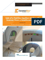 Toshiba Aquilion 64 CT Scanner
