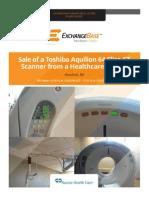 Toshiba Aquilion 64 CT Scanner
