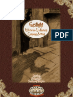 Savage Worlds - Gaslight - Victorian Era Fantasy (Oef)