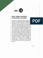 Cap.12 Sexo, Bases Evoluctivas, Hormonales y Neurales