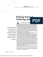 Making Sense of Suffering and Death - O'Malley