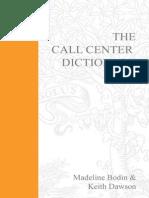 The Call Centre Dictionary