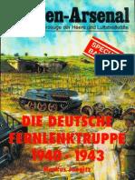 Waffen Arsenal - Special Band 10 - Die deutsche Fernlenktruppe 1940-43 - Teil 1