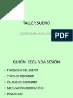 TALLER SUEÑO CORTEGANA 2014