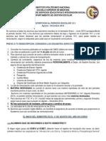 Anuncios Convocatoria 15-1