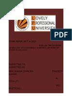Maths Term Paper