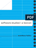 Software Studies - A Lexicon
