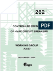 262 Controlled Switching of HVAC CBs Benefits & Economic Aspects