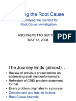 Apresentation Finding Root Cause ASQ