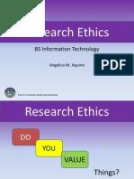 Research Ethics AQUINO