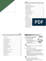 KA1102 Manual, Kaito