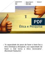 Ética Na Pesquisa Slides Grupo-correção Le