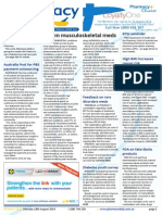 Pharmacy Daily for Mon 18 Aug 2014 - $922m musculoskeletal meds, Australia Post for PBS pay outsourcing, FDA on fake Ebola products, Medication problems in prisoners and much more
