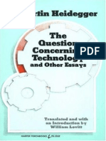 The Question Concerning Technology and Other Essays