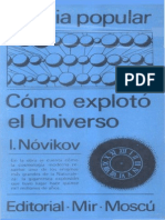 Como Explotó El Universo. Novikov
