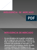 Inteligencia de Mercado 2013 2